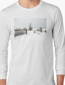 Snow and Sand Long Sleeve T-Shirt