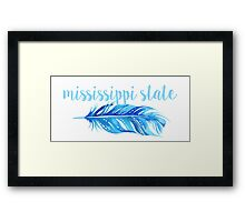 Mississippi State University Framed Print