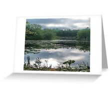 Still Water at Dawn Greeting Card