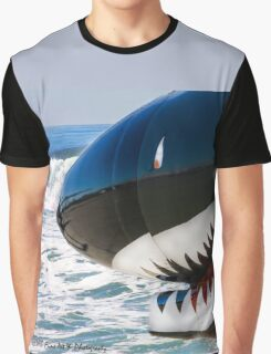 The Military Shark  Graphic T-Shirt