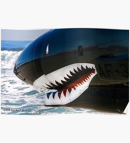 The Military Shark  Poster