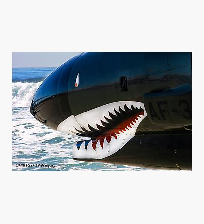 The Military Shark  Photographic Print