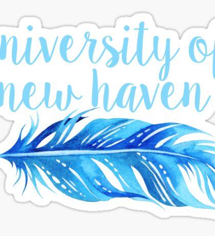 University of New Haven Sticker