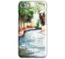 Mataranka Hot Springs iPhone Case/Skin