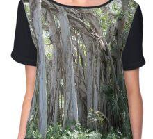 Banyan Trees Chiffon Top