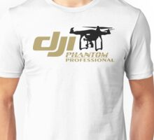 DJI Phantom Pilot UAV Drone Phantom Professional white Unisex T-Shirt