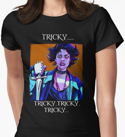 tricky Womens Fitted T-Shirt