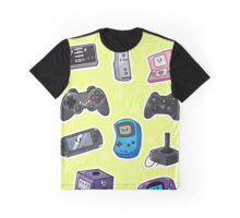 Kawaii Consoles Graphic T-Shirt