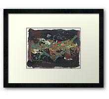 STOCK MARKET GRAPH(C2016) Framed Print