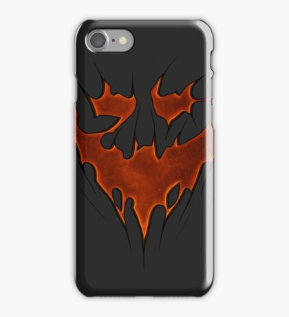 Scarecrow Knightmare Bat Symbol iPhone Case/Skin