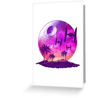 AN EMPIRE FULL OF FORCE Greeting Card