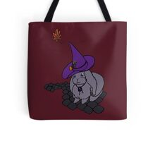 Witchy Bunny in Autumn Tote Bag