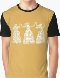 Schuyler Sisters (White) Graphic T-Shirt