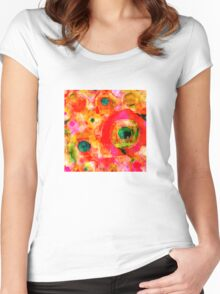 Radiant Women's Fitted Scoop T-Shirt