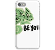Chameleon Be Yourself iPhone Case/Skin