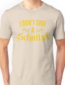 I Don't Give A Schnitzel Unisex T-Shirt