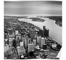 Rivière du Détroit Poster