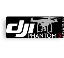 DJI Phantom  3Pilot UAV Drone Advance Canvas Print