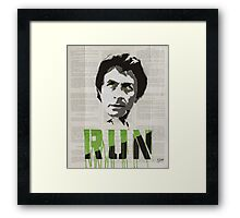 HULKING OUT Framed Print