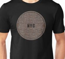 NYC Manhole Lid: NYC Unisex T-Shirt