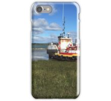 Landscape and boat iPhone Case/Skin