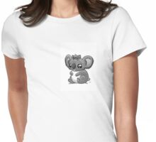 Koala mom and baby Womens Fitted T-Shirt
