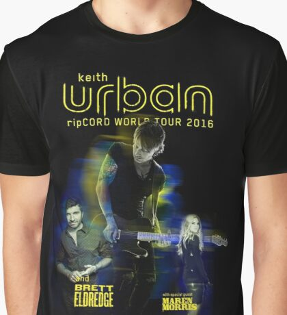 keith urban tour date 2016 lovh2 Graphic T-Shirt