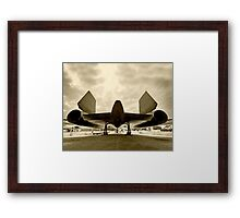 Lockheed SR-71 Blackbird Framed Print