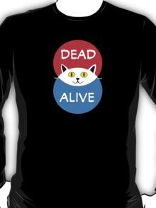 Schrödinger's Cat - Dead and Alive - Venn Diagram T Shirt T-Shirt