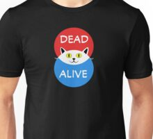 Schrödinger's Cat - Dead and Alive - Venn Diagram T Shirt Unisex T-Shirt