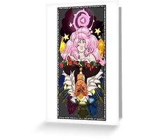 Jasper and Rose Quartz Steven Universe Gem War Greeting Card