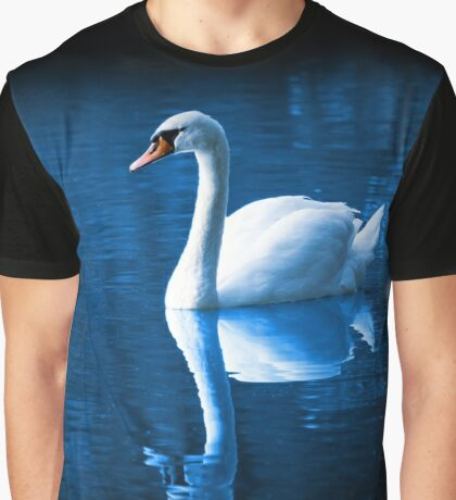 Beautiful Swan on the Lake  Graphic T-Shirt