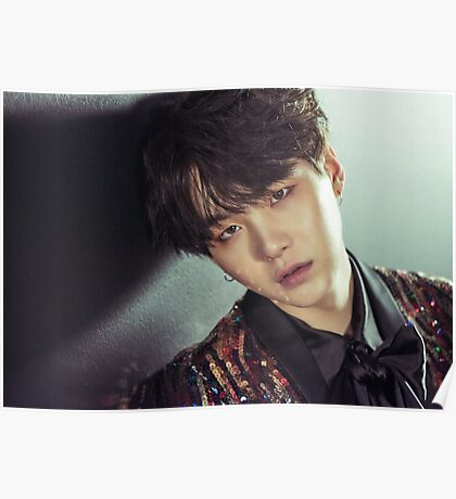BTS Wings Suga Poster