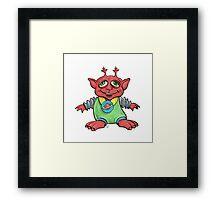 Melvin Martian the Eldest Son Framed Print