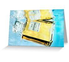 Underwater Chanel Greeting Card