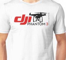 DJI Phantom 3 Advance Pilot UAV Drone white Unisex T-Shirt