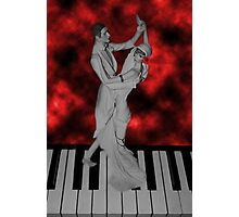 LETS FACE THE MUSIC AND DANCE /PICTURE / CARD Photographic Print