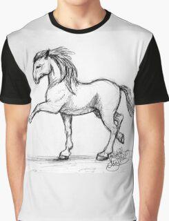 Prancing Horse Graphic T-Shirt