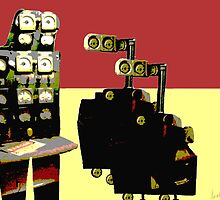 Robo's by ainadelsart