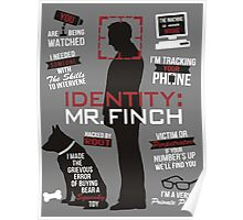 Person of interest Harold Finch Poster