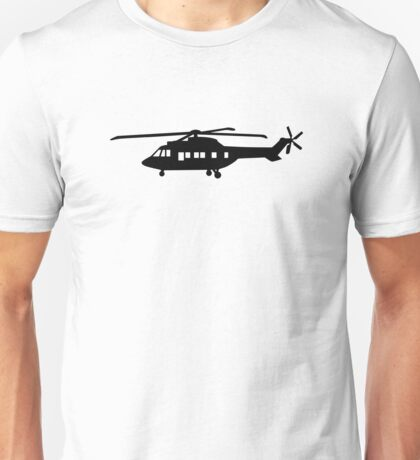 Helicopter pilot Unisex T-Shirt