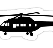 Helicopter pilot Sticker