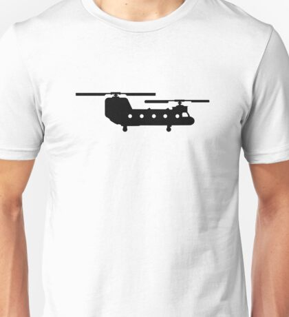 Army helicopter Unisex T-Shirt