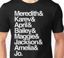 greys&&& Unisex T-Shirt