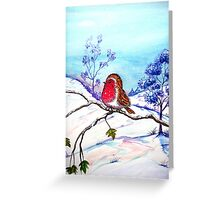 Winter Snow  Greeting Card