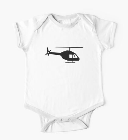 Helicopter One Piece - Short Sleeve