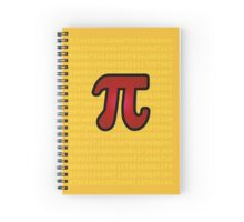 Numbers of Pi Spiral Notebook