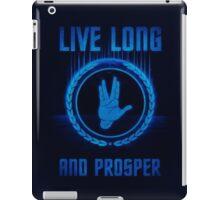 Live Long and Prosper - Spock's hand - Leonard Nimoy Geek Tribut iPad Case/Skin