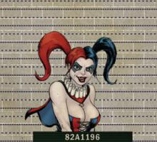 Harley Quinn - Gotham's Most Wanted Sticker