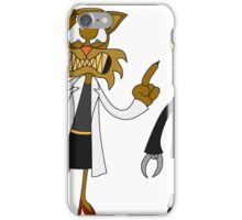Dr. Meow and her Robot iPhone Case/Skin